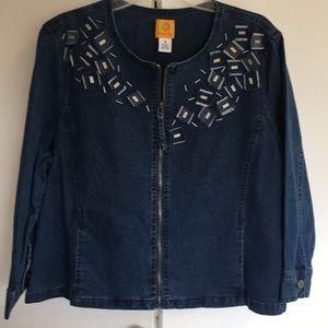 New Ruby Rd. Denim Jacket